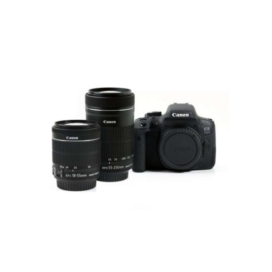 Canon EOS 750D Kit (18-55mm STM, 55-250mm STM)