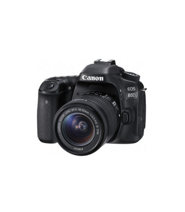 Canon EOS 80D Kit with 18-55mm STM Lens