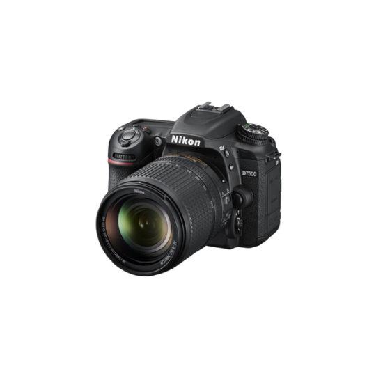 Nikon D7500 Kit with 18-105mm (Black)