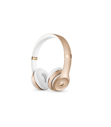 Beats Solo3 Wireless Headphones (Gold)