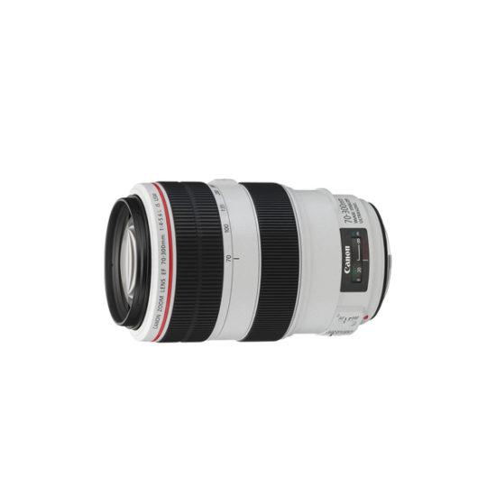Canon EF 70-300mm f4-5.6L IS USM Lens (White)