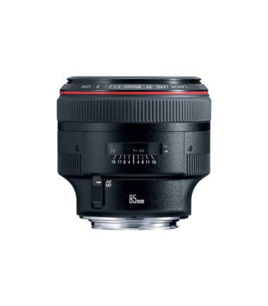 Canon EF 85mm f1.2L II USM Autofocus Lens