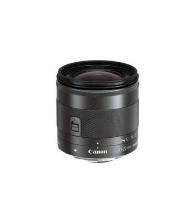 Canon EF-M 11-22mm F4-5.6 IS STM Black