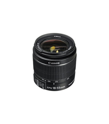 Canon EF-S 18-55mm f3.5-5.6 III Lens (No Packing)