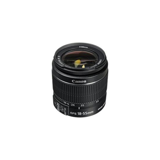 Canon EF-S 18-55mm f4-5.6 IS STM Lens (Black, Bulk Pack)