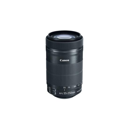 Canon EF-S 55-250mm f4-5.6 IS STM Lens (Retail Box) NO ORIGINAL MANUAL