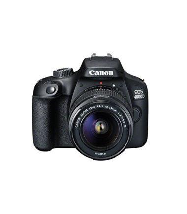 Canon EOS 4000D Kit (EF-S 18-55mm III) Black