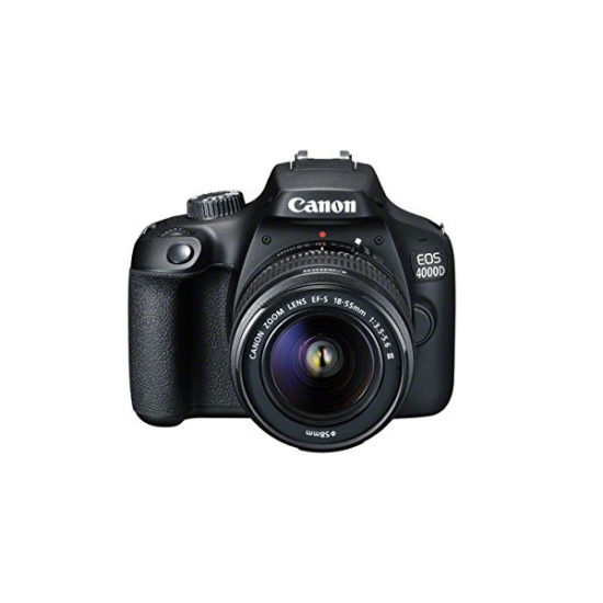 Canon EOS 4000D Kit (EF-S 18-55mm III) Black