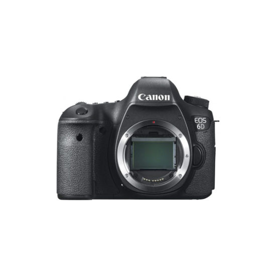 Canon EOS 6D Body Black (WG, Japanese Version)