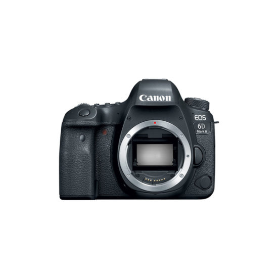 Canon EOS 6D Mark II Body Black (Multi Language)