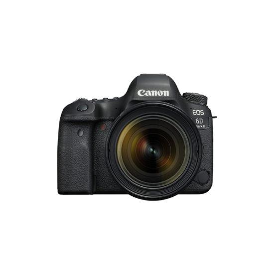 Canon EOS 6D Mark II Kit (24-70mm f4L IS II USM Lens) (Multi Language)