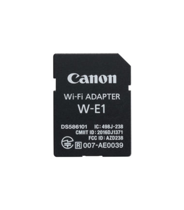 Canon W-E1 WiFi Adapter (Retail Packing)