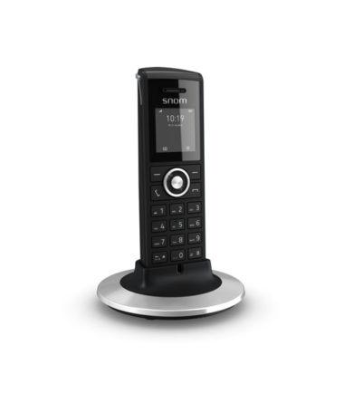 DECT handset designed for professional business use