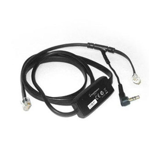 Electronic Hook Switch Adapter Cable for Aastra/Zultys