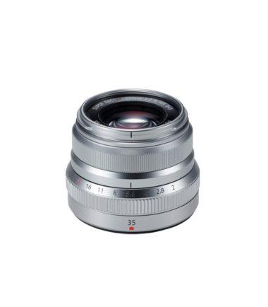 FUJIFILM XF 35mm f2 R WR Lens (Silver)