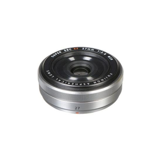 Fujifilm FUJINON XF 27mm F2.8 Compact Prime Lens Silver (Retail Packing)