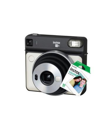 Fujifilm Instax Square SQ6 Pearl White+10 Sheets