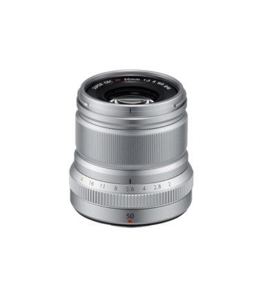 Fujifilm XF 50mm f2 R WR Lens Silver