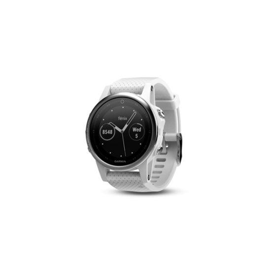 Garmin Fenix 5S White with Carrara white band (010-01685-30)