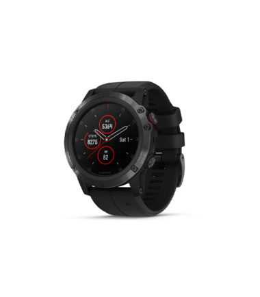 Garmin Fenix 5X Plus Sapphire Black with Black Band (010-01989-01)