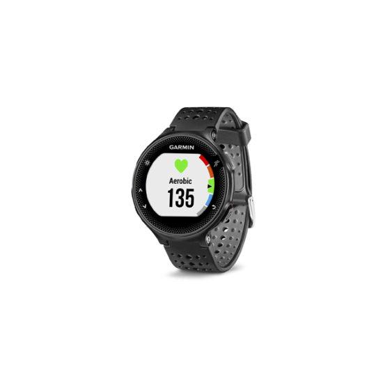 Garmin Forerunner 235 GPS Running Watch (Black and Gray, 010-03717-6B)
