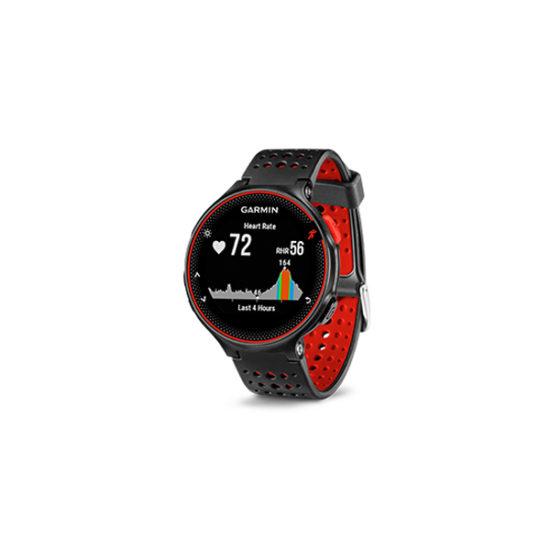 Garmin Forerunner 235 GPS Running Watch (lava red, 010-03717-6C)