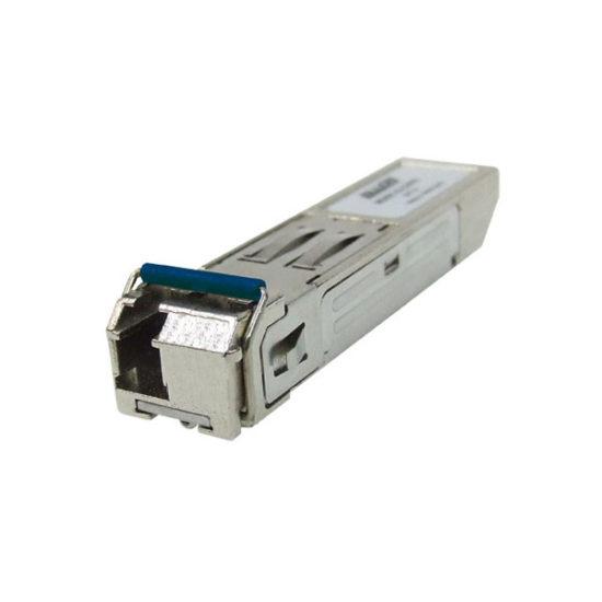Gigabit Single Mode/Single Fibre SFP Module 1000Base-SX, WDM, TX-1310nm RX-1550nm, 20Km