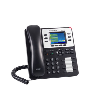 HD PoE IP Phone 320x240 Colour LCD, 3 lines, Dual GbE, 4 program keys, EHS