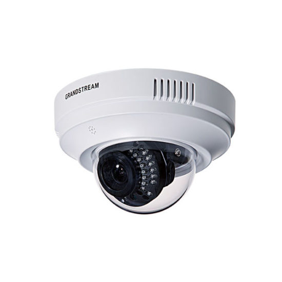 HD indoor Infrared 2MP Fixed Dome IP Camera, 720p, PoE, Mic and Speaker