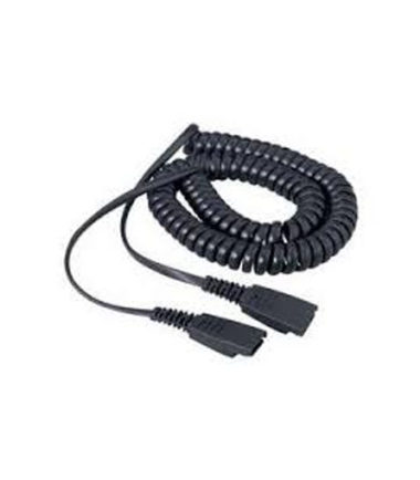 Jabra Cord - QD to QD, 2m Curly