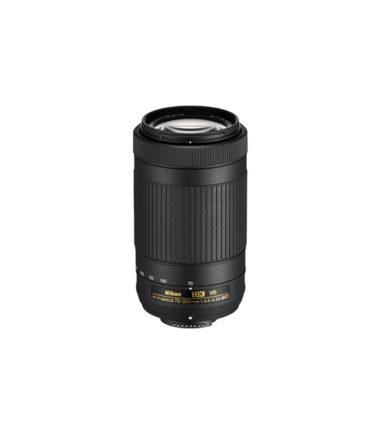 Nikon AF-P 70-300mm f4.5-6.3G VR Black (Retail Packing)