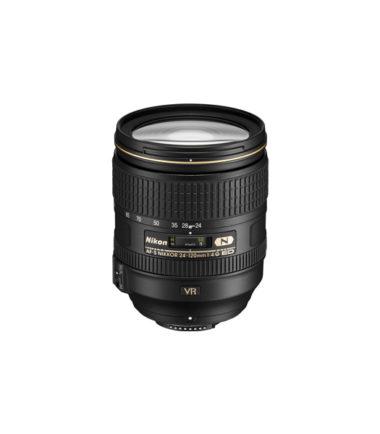 Nikon AF-S 24-120mm f4G ED VR Black (Bulk Pack)