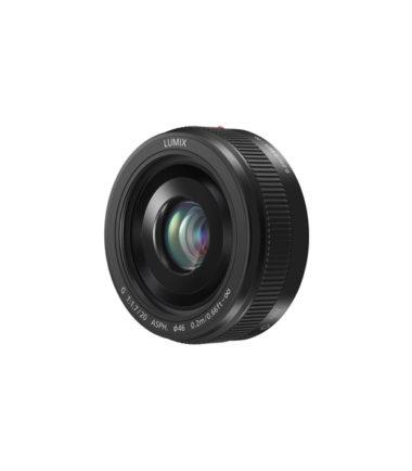 Panasonic LUMIX G 20mm F1.7 II ASPH Black HH020A (Retail Packing)