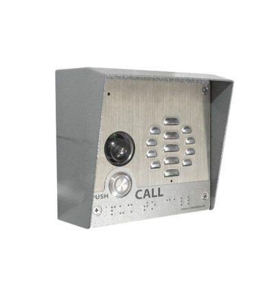 SIP-enabled h.264 Video Outdoor Intercom