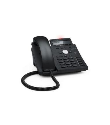 4 Line IP Phone. Hi-Res display with backlight, Gigabit, USB, IPv6, PoE