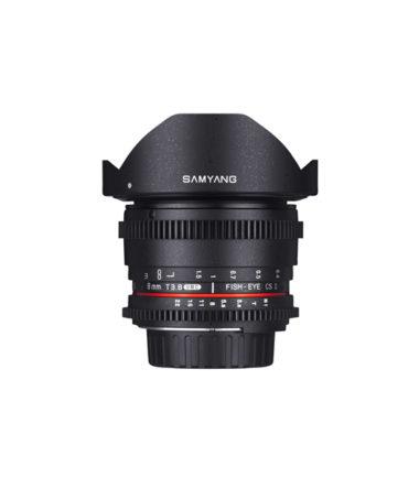 Samyang 8mm T3.8 VDSLR II (Canon EF)
