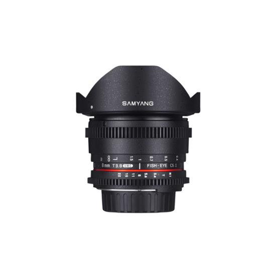 Samyang 8mm T3.8 VDSLR II (Nikon F)