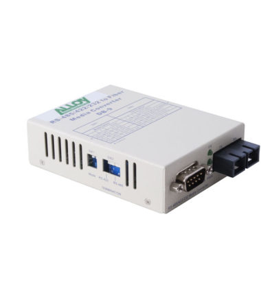 Serial to Fibre Standalone/Rack Converter RS-232/422/485 DB-9 to Multimode SC, 2Km