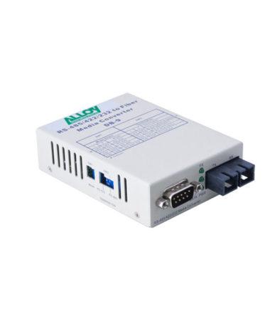 Serial to Fibre Standalone/Rack Converter RS-232/422/485 DB-9 to Singlemode SC, 20Km