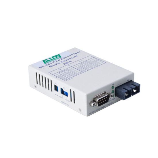 Serial to Fibre Standalone/Rack Converter RS-232/422/485 DB-9 to Singlemode SC, 20Km