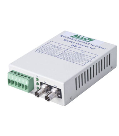 Serial to Fibre Standalone/Rack Converter RS-232/422/485 Terminal to Multimode ST, 2Km