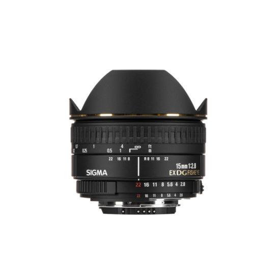 Sigma 15mm f2.8 EX DG Diagonal Fisheye Lens for Nikon F B