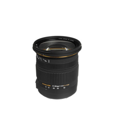 Sigma 17-50mm f2.8 EX DC OS HSM Lens for Canon EF