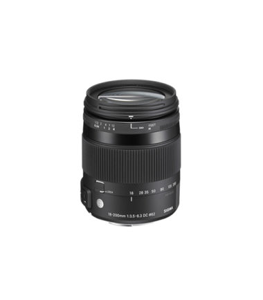 Sigma 18-200MM F3.5-6.3 DG MACRO OS HSM Contemporary Lens for Canon