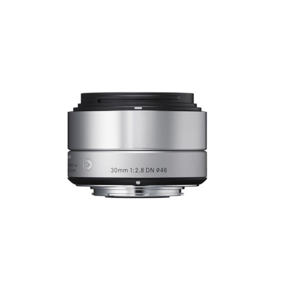 Sigma 30mm f2.8 DN Lens for Micro Four Thirds Cameras (Silver)