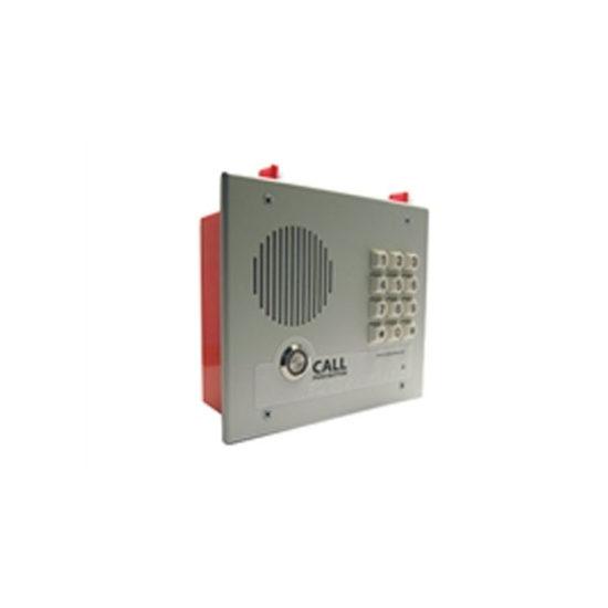 Singlewire InformaCast® Indoor Intercom with Keypad Flush Mount