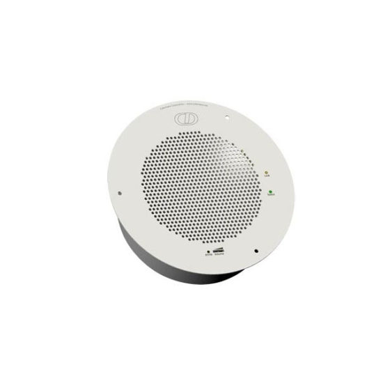 Singlewire InformaCast® Talk-Back Speaker, Signal White