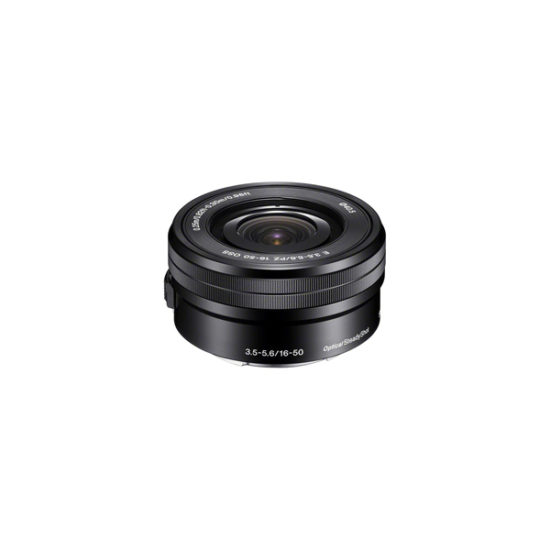 Sony 16-50mm F3.5-5.6 PZ OSS (SELP1650, Black, Retail Packing)