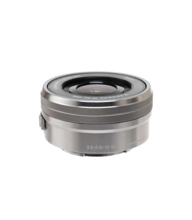 Sony 16-50mm F3.5-5.6 PZ OSS (SELP1650, Silver, No Packing)