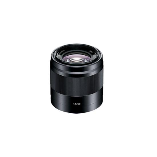 Sony E 50mm f1.8 OSS Lens (Black)